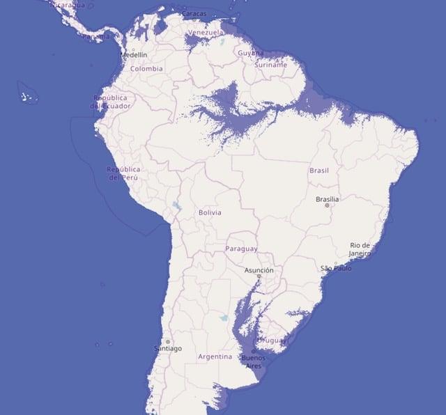 海面上昇_南アメリカ_アマゾン